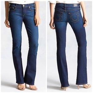 NWOT True Religion Becca Mid Rise Bootcut Jeans